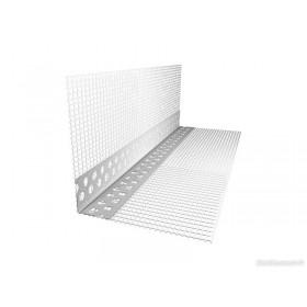 Угол пластиковый фасадный с сеткой Эверестстрой (10х15) 2.5 м 1-сорт120г/м2
