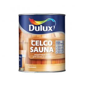 Celco Sauna 20 Полуматовый защитный лак для бани и сауны