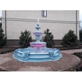 Изготовление фонтанов, водопадов любой сложности