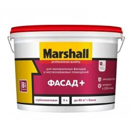 Краска Marshall ФАСАД+ глубокоматовая